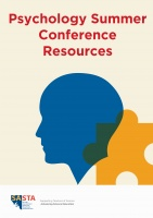Psychology Conference 2021 workshop resources