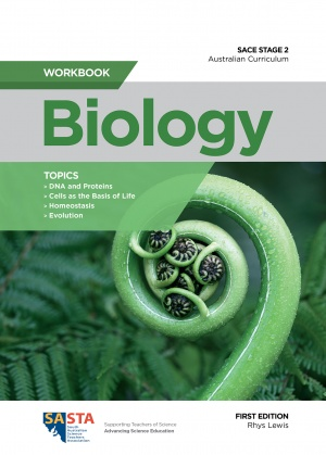 Stage 2 Biology workbook cover