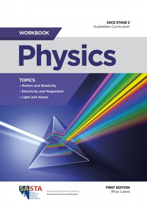Stage 2 Physics workbook cover
