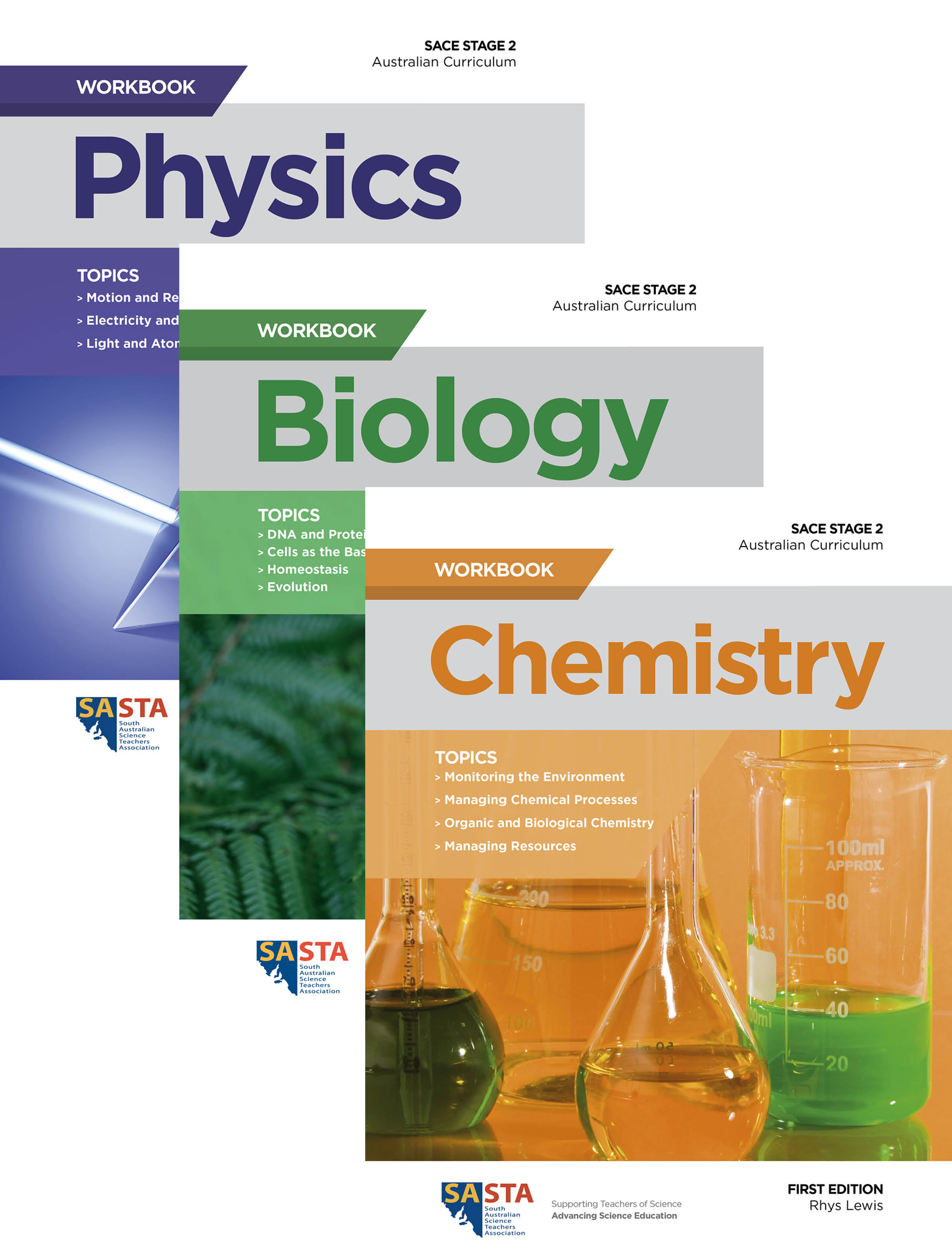 Stage 2 Workbook Covers