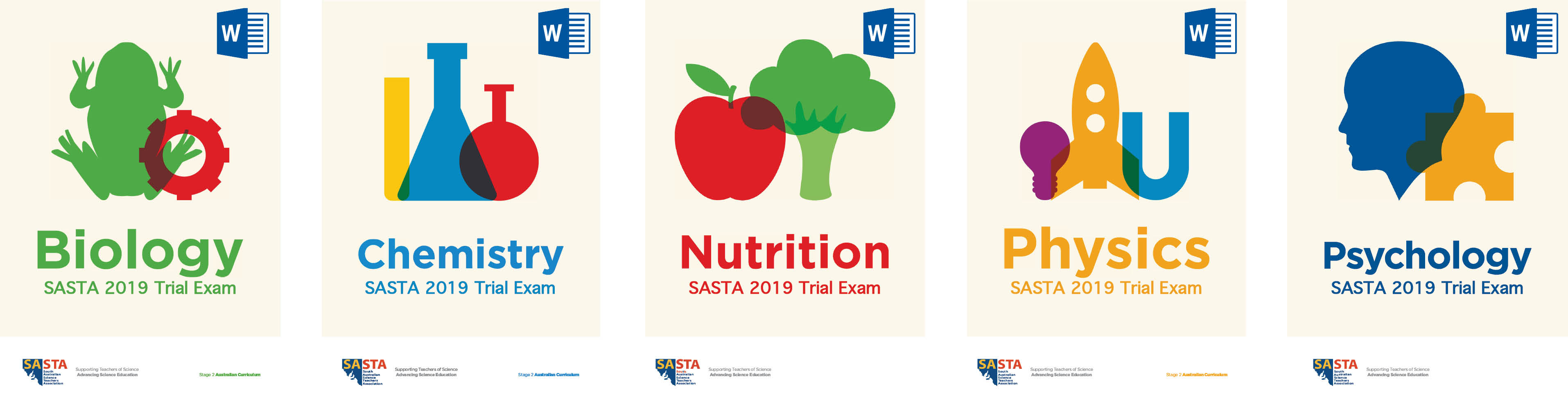 Stage 2 Trial Exam Covers