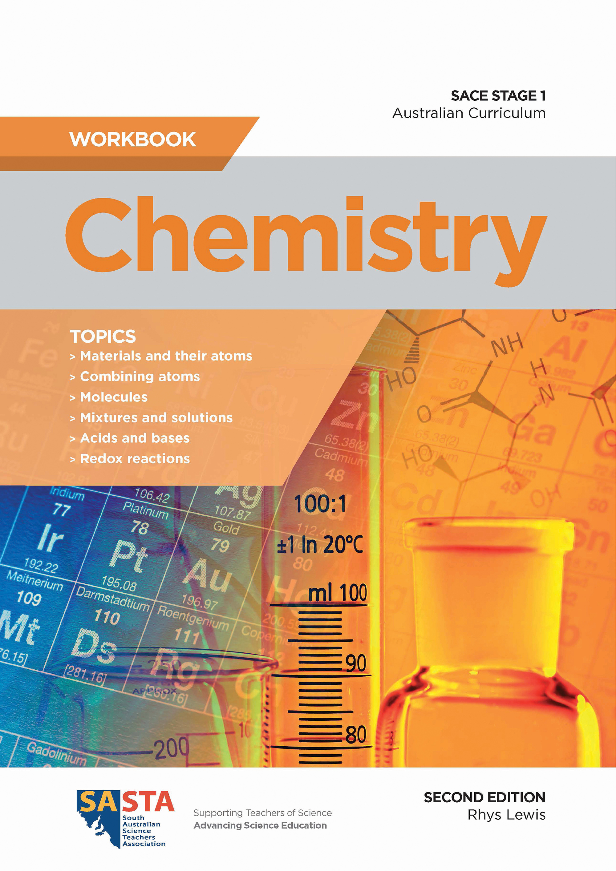 SASTA Chemistry Stage 1 Workbook 2nd Edition