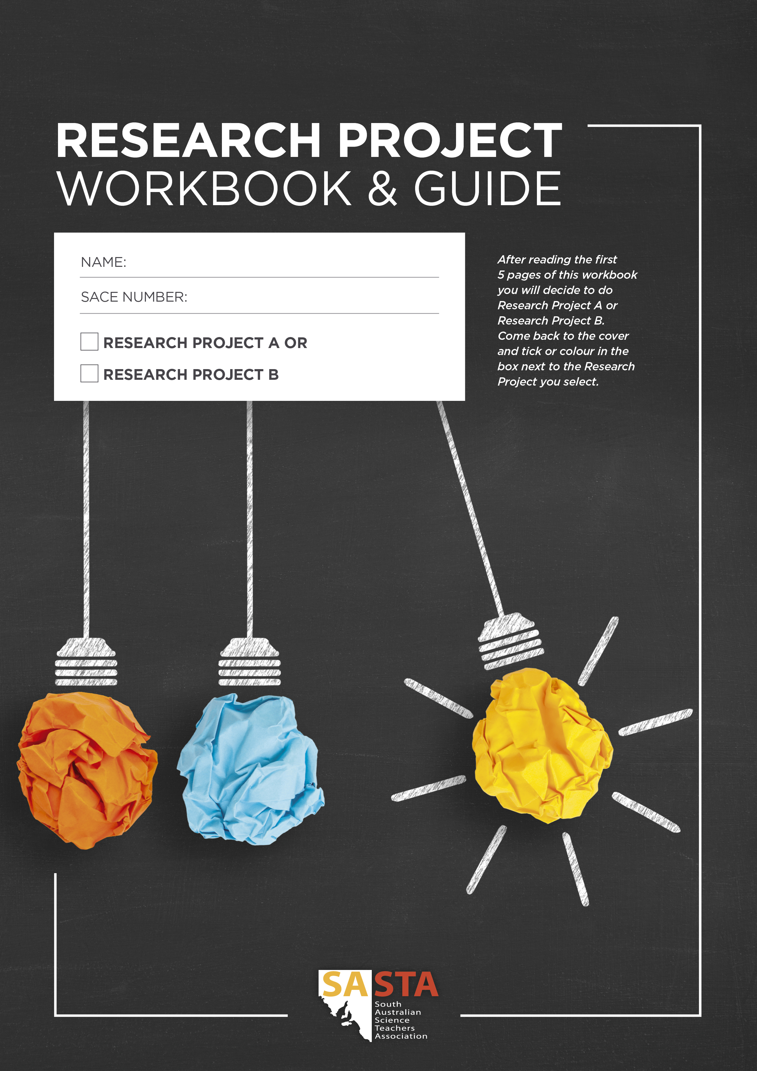 Research Project Workbook cover
