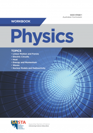 SACE Stage 1 Workbook cover_PHYSICS