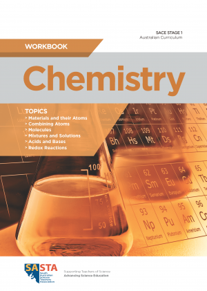 SACE Stage 1 Workbook cover_CHEMISTRY